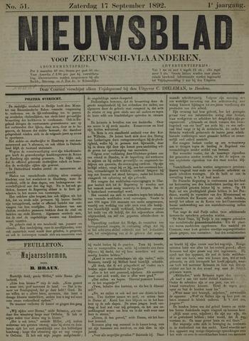 Nieuwsblad voor Zeeuwsch-Vlaanderen 1892-09-17