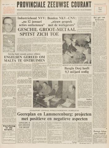 Provinciale Zeeuwse Courant 1972-01-05