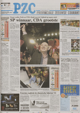 Provinciale Zeeuwse Courant 2006-11-23