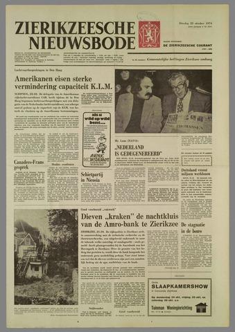Zierikzeesche Nieuwsbode 1974-10-22