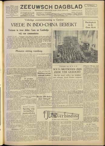 Zeeuwsch Dagblad 1954-07-21