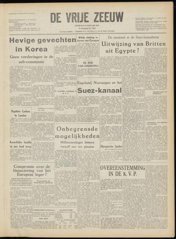 de Vrije Zeeuw 1952-01-15