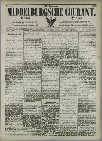 Middelburgsche Courant 1891-04-28