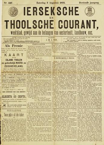 Ierseksche en Thoolsche Courant 1895-08-03