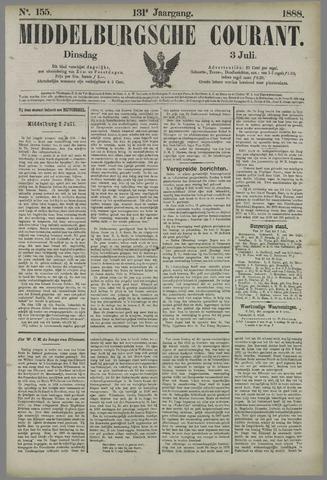 Middelburgsche Courant 1888-07-03