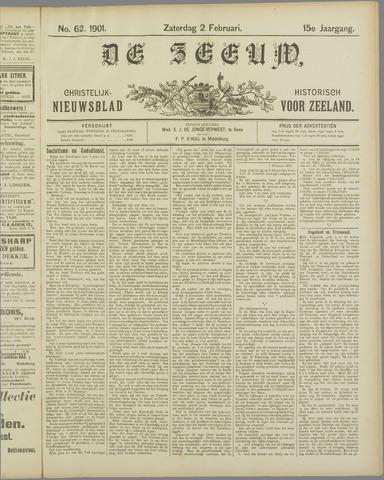 De Zeeuw. Christelijk-historisch nieuwsblad voor Zeeland 1901-02-02