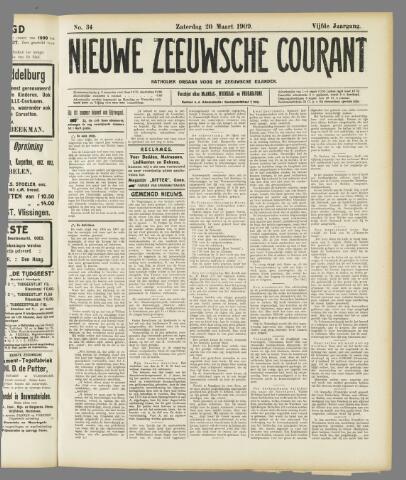 Nieuwe Zeeuwsche Courant 1909-03-20