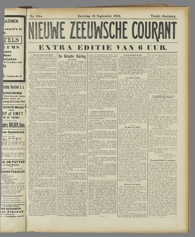 Nieuwe Zeeuwsche Courant 1914-09-26