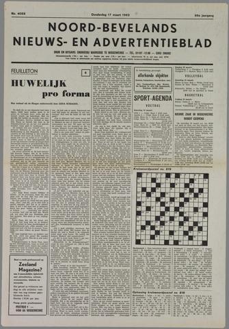 Noord-Bevelands Nieuws- en advertentieblad 1983-03-17