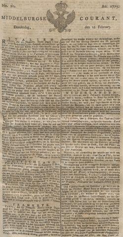 Middelburgsche Courant 1775-02-16