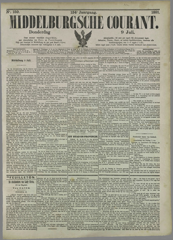 Middelburgsche Courant 1891-07-09