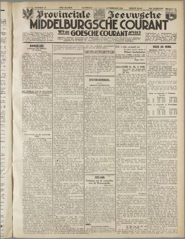Middelburgsche Courant 1936-02-22