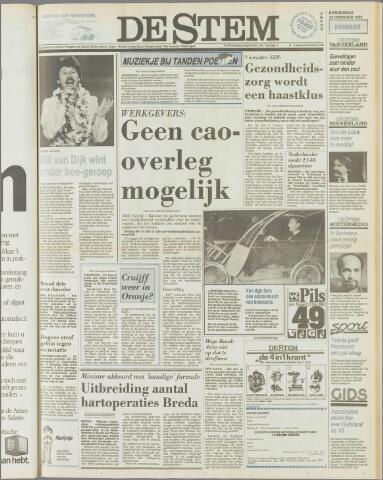 de Stem 1982-02-25