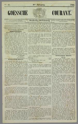 Goessche Courant 1861-02-28
