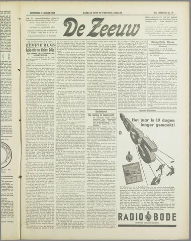 De Zeeuw. Christelijk-historisch nieuwsblad voor Zeeland 1936