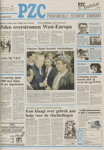 Provinciale Zeeuwse Courant 1991-04-09