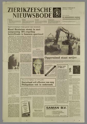 Zierikzeesche Nieuwsbode 1987-02-27