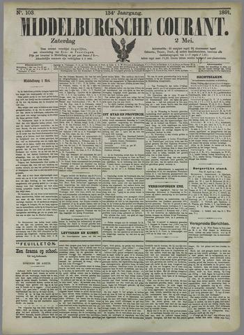 Middelburgsche Courant 1891-05-02