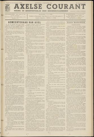 Axelsche Courant 1961-08-05