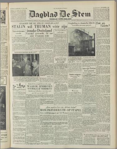 de Stem 1951-11-06