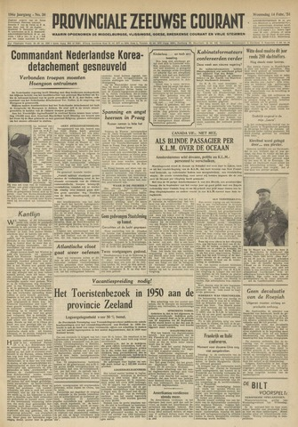 Provinciale Zeeuwse Courant 1951-02-14