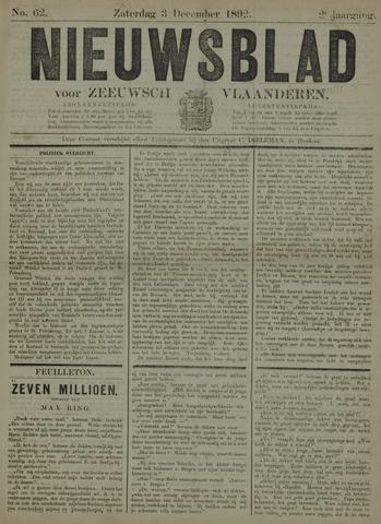 Nieuwsblad voor Zeeuwsch-Vlaanderen 1892-12-03