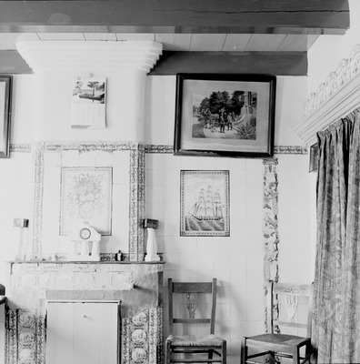 Interieur van huiskamer